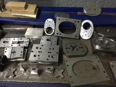 Design and custom manufacturing of molds and dies