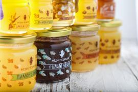 Мед и медовые смеси в подарочном наборе от Медик Мишка