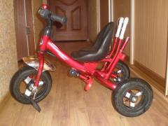 Sell 3-wheel bike Lex-007 with bear. handle (INFLATABLE TO