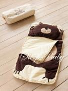 Спальный плед-конверт Мишка для детей (есть размеры)